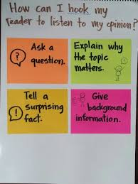 image result for conferring toolkit shared by teachers attending  examples of hooks for persuasive essays ways to hook your reader