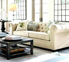 pottery barn leather sectionals sectional set honey table review brooklyn