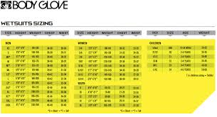 Body Glove Womens Wetsuit Sizing Images Gloves And