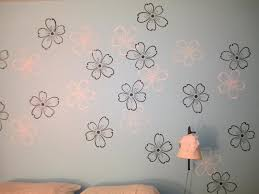 fl stencils painting pic on large flower stencils for walls