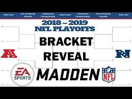 Nfl Playoff Bracket 2018 Chart Nfl Playoff Bracket Reveal For 2018 2019 Madden Simulations