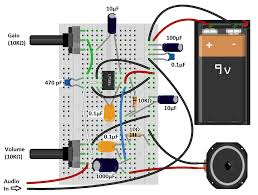 lm386 audio amplifier great sounding amp diagram cool stuff lm386 audio amplifier great sounding amp diagram