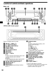 sony mex r r multi disc player operating instructions