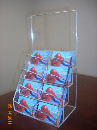 Business Cards Display Stands Unique Business Card Display Stand Plastic Holders Staples Holder 25