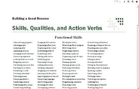 Action Verbs Resume Harvard Power Words For Resumes Project Within