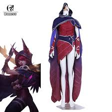 lol size rolecos lol game cosplay costume xayah the rebel costume lol