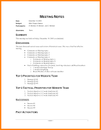Sample Meeting Minutes Notes Of Meeting Sample Ninjaturtletechrepairsco 16