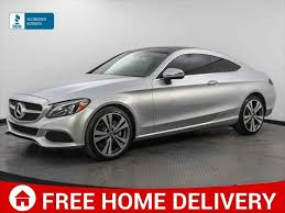 2017 mercedes benz c300 2 door coupe amg styling package 4matic with 56999km's. 2017 Mercedes Benz C Class C 300 Coupe For Sale In Miami Fl Cargurus