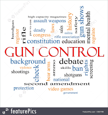 signs and info gun control word cloud concept stock  signs and info gun control word cloud concept great terms such as second