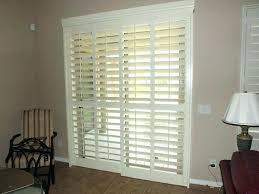 installed hardwood stained shutter home depot shutters