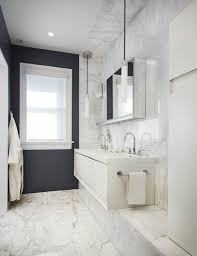 Accent Wall Bathroom Design Great White Bathroom Designs With Grey Accent Wall And