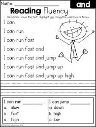 Teach your child how to read or supplement your child's current education to help accelerate their reading growth. Free Reading Fluency And Comprehension Set 1 Reading Fluency Reading Comprehension Kindergarten Reading Comprehension Worksheets