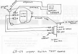 wiper motor test bench diagram team camaro tech  66 Chevy Truck Wiper Wiring Diagram 2 Speed #43