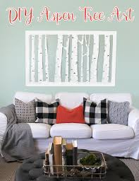 i love how my diy wall art  on inexpensive wall art projects with large inexpensive diy aspen tree wall art thecraftpatchblog