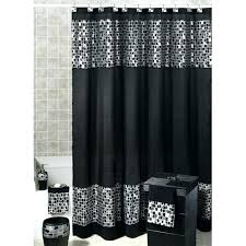 silver shower curtain a black and silver shower curtains lighthouse shower curtains target bathroom decorating shower silver shower curtain