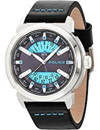 amazon co uk police watches police mens watch date pl 14544js 03