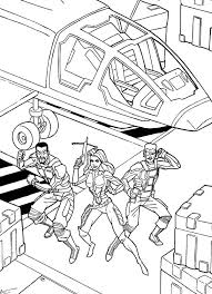 Small Picture Kids n funcom 44 coloring pages of GI Joe