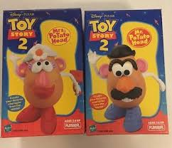 mr potato head toy story 2. Wonderful Toy 1999 Toy Story 2 Mr And Mrs Potato Head Intended Head A