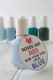 nail polish gift idea on polkadotchair com cute simple gift for a mom or a teacher eye love you diy valentines crafts