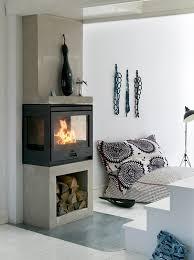Kaminöfen Und Kamine Mit Schönem Design Raumteiler Ofen