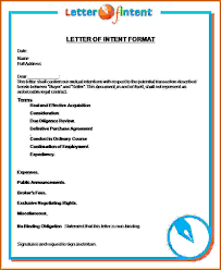 Ideas of Sample Format Letter Of Intent Also Proposal ...