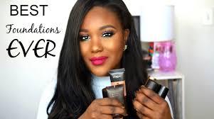 best summer foundations high end oily dry for black women makeup tutorial 2016 dark skin