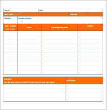 Work Diary Template Work Journal Template Excel Sheet Templates Daily Azerixeber Info