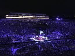 Notre Dame Stadium Seating Chart Garth Brooks Garth Brooks Makes History At Notre Dame Cmt