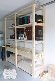 easy diy garage shelving, diy, garages, how to, shelving ideas, woodworking