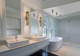 ... Photos White Simple Elegant Best Bathroom Lighting Fixtures Bathroom  Vanity Lighting Fixtures Bathtub Wastafel Wooden Shelves Mirror ...