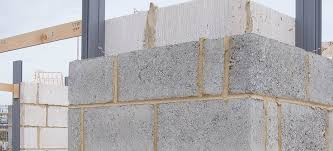 light aggregate concrete block solid for load bearing walls for foundations
