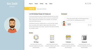 80+ Best Html Resume Cv Vcard Templates - Freshdesignweb