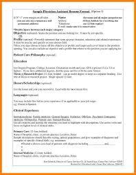 8 Physician Assistant Resume Billing Clerk Resume