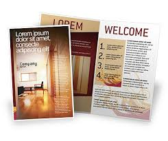 apartment brochure design. Apartment Design Brochure Template