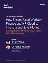 Hr Report Delectable Constellation R On Twitter Report How EnsonoIT Used Workday