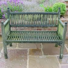 antique wooden garden bench antique