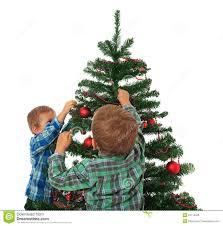 Kids Decorating Christmas Tree Stock Photo  Image 22113320Christmas Tree Kids
