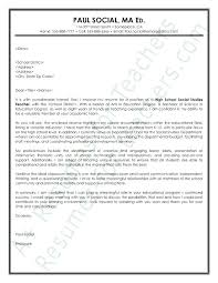 Sample Cover Letters For Teachers With Experience Gallery Of Teacher