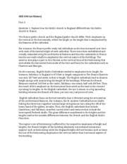 ged unit ged art history unit exam essay question 2 pages ged 240 art history