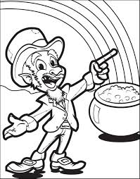 Small Picture Free Printable Leprechaun Coloring Page for Kids 7