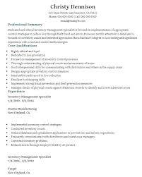 Inventory Controller Resumes Inventory Controller Sample Resume Podarki Co
