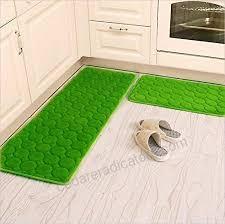 kitchen rugscamal 2 pieces non slip memory foam kitchen mat rubber backing doormat runner rug set