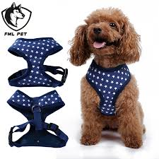 Dog Harness Pattern Interesting Star Pattern Dog Harness Comfortable And Breathable Dog Collar Pet