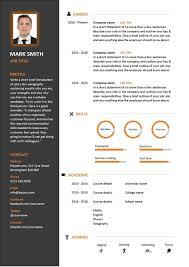 Curriculum Vitae Build A Resume Website Graphic Artist Cover