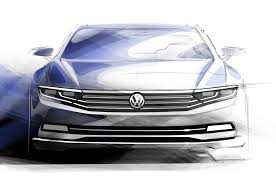 vw new car releaseNew Euro Volkswagen Passat Teaser Image Released  Motor Trend WOT