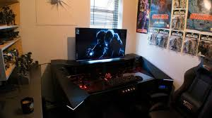 living room amazing custom made pc pc desk living room custom made pc