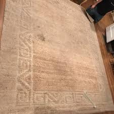 photo of oriental rug cleaning repair darmany torrance ca united states before