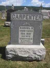 Ida May Carpenter (1838-1919) - Find A Grave Memorial