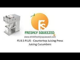 fs 8 5 plus countertop juicing press juicing cubers