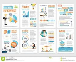 Marketing Charts 2017 Business Infographics Banner Set With Charts Stock Vector